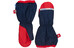 Finkid Pakkanen Gloves Kids navy/red